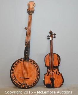 Foam-Core Banjo and Violin