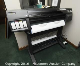 HP Deskjet 1055CM Large Format Plotter/Printer