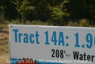 1.900 ± Acres with 208' ± Frontage on the Tennessee River