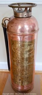 Phomene Copper Fire Extinguisher