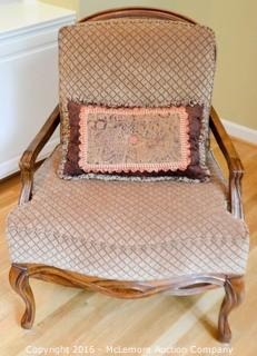 Wooden and Upholster Chair,