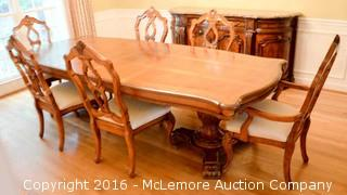 Seven Piece Dining Room Set,