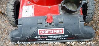 Craftsman 675 Series Engine Power Propelled Yard Vacuum