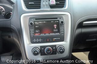 2015 GMC Acadia SLE-1 SUV with 3.6L V6 DOHC 24V engine