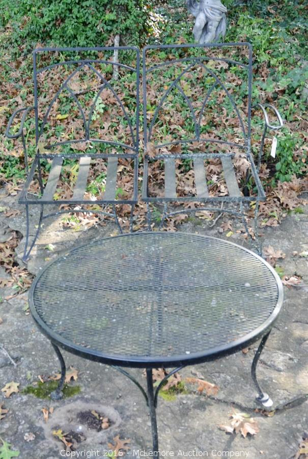 Concrete Statuary and Patio Furniture from Two Nashville, TN Estates