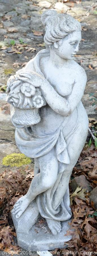 Concrete Statuary and Patio Furniture from Two Nashville, TN Estates