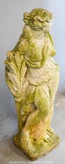 Statue of a Woman With Weight