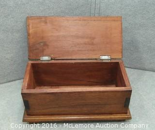 Solid Wooden Box
