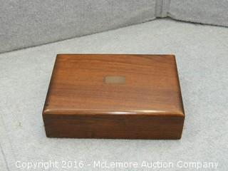 Solid Walnut Wooden Box