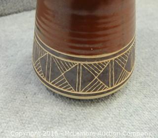 Handmade Thamaga Botswana Pottery Pitcher