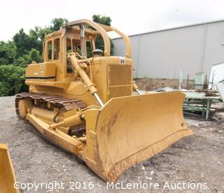 International Harvester TD-20E Diesel Crawler Dozier with Rear Winch