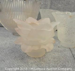 Assortment of Lamp Globes