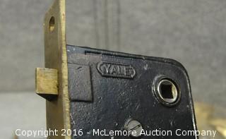 2 Yale Antique Door Locks