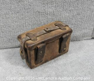 World War II Belt Pouch and Trench Lighter