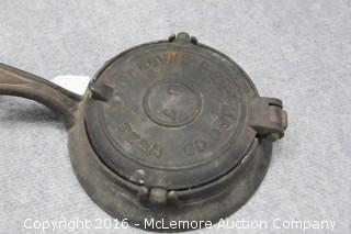 Antique Waffle Maker from P&B Mfg Co of Nashville