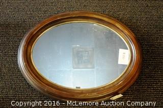 Roma Framed Oval Mirror